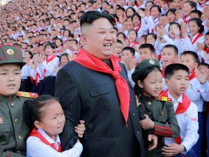 North Korean leader Kim Jong Un poses with participants during the 8th Congress of the Korean Children's Union (KCU) in this undated photo released by North Korea's Korean Central News Agency (KCNA) in Pyongyang, North Korea June 8, 2017. KCNA via REUTERS   ATTENTION EDITORS - THIS IMAGE WAS PROVIDED BY A THIRD PARTY. REUTERS IS UNABLE TO INDEPENDENTLY VERIFY THIS IMAGE. EDITORIAL USE ONLY. NO THIRD PARTY SALES. NOT FOR USE BY REUTERS THIRD PARTY DISTRIBUTORS. SOUTH KOREA OUT. NO COMMERCIAL OR EDITORIAL SALES IN SOUTH KOREA. - RTX39LSE