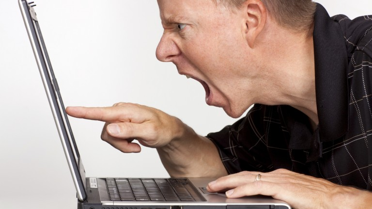 Researchers examined how people feel after reading and writing online rants.